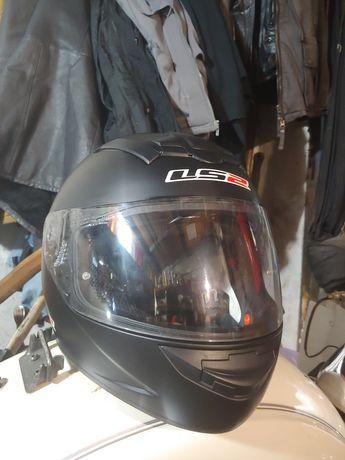 Шлем интеграл LS2 FF352 ROOKIE Черный Матовый