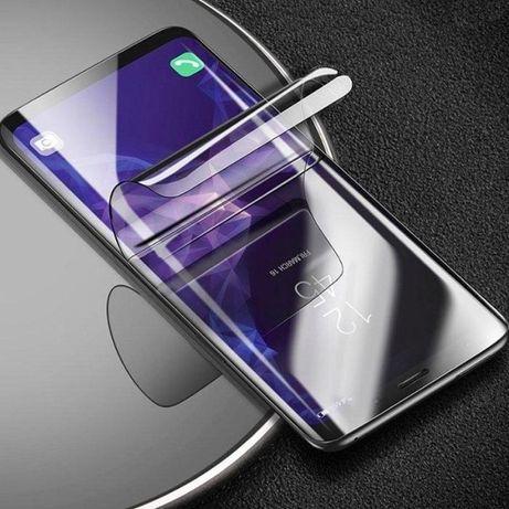 Гидрогелевая пленка Samsung note S8 S9 10 6 7 edge S20 FE lite+ plus A