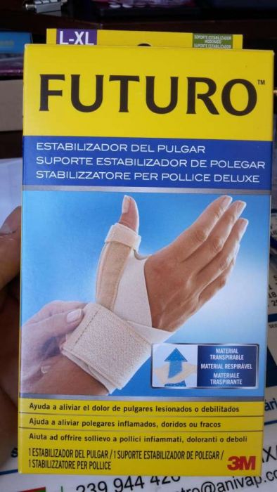 Suporte Estabilizador de polegar (Tendinite)