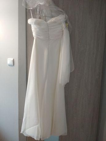 Suknia ślubna - prosta