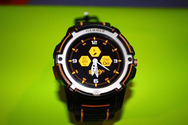 Hammer Watch, Smartwatch, mocny zegarek dla aktywnych ludzi.