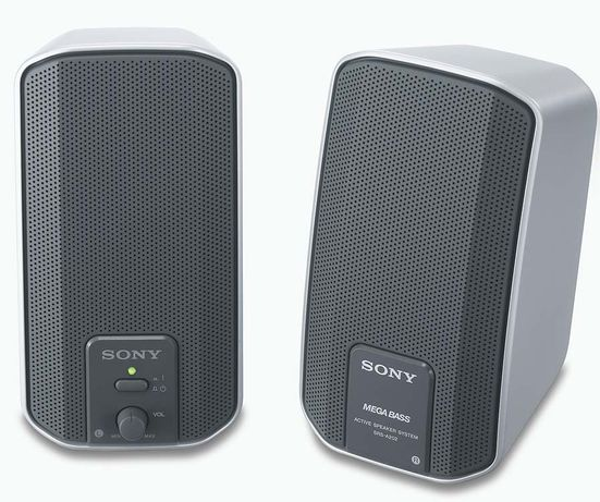 Colunas Sony Como Novas!