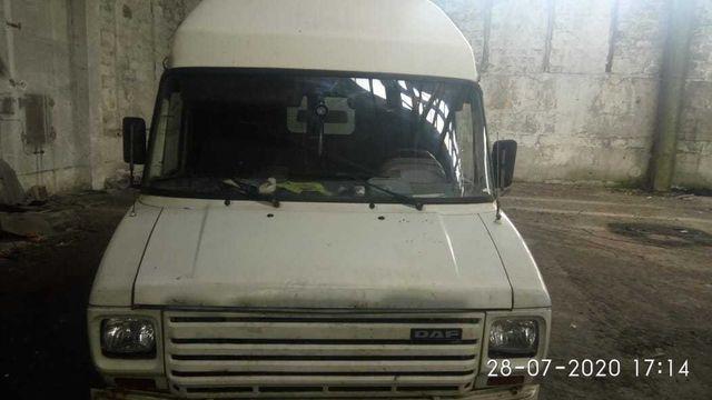 Daf 400 белый груз пасс