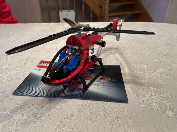 Klocki lego helikopter technic 8046