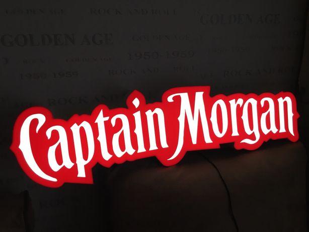 Вывеска лайтбокс Captain Morgan/Капитан Морган