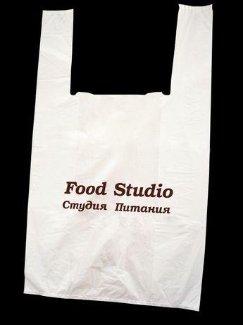 Пакеты , кульки с логотипом,  печать на пакетах