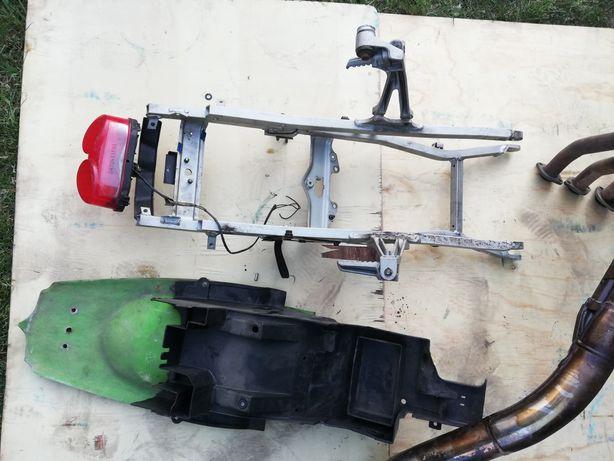 Kawasaki ninja zx6 98-03 stelaż tył, blotnik, lampa