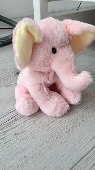 Różowy słonik pluszowy Świnoujście - image 1