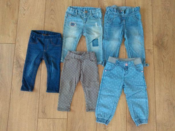 Spodnie dziewczęce Cool Club Smyk H&M rozmiar 80