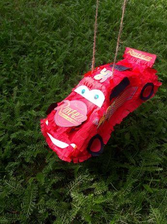 Piniata jak zygzak McQueen Piniata samochód auta auto