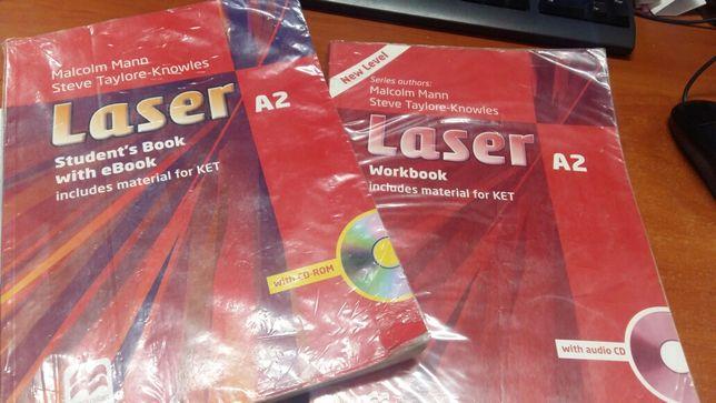 DVD Учебник английского языка, диск и рабочая тетрадь 7-8 класс.