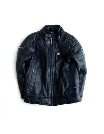 Байкерская куртка косуха из кожзама эко кожи для модника от Inextenso