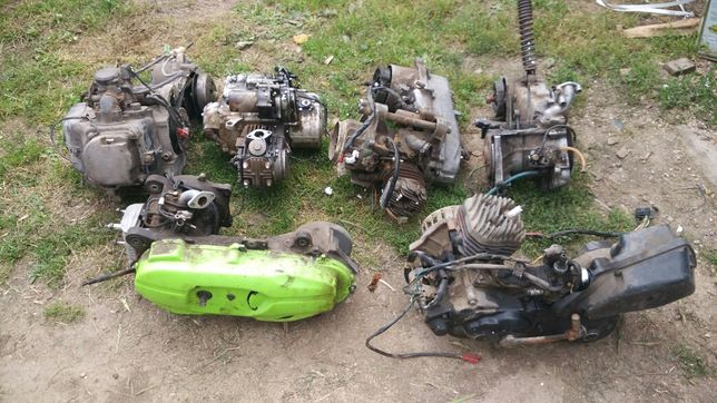 Разборка! Картера двигателя скутеров ямаха хонда сузуки джорно карб