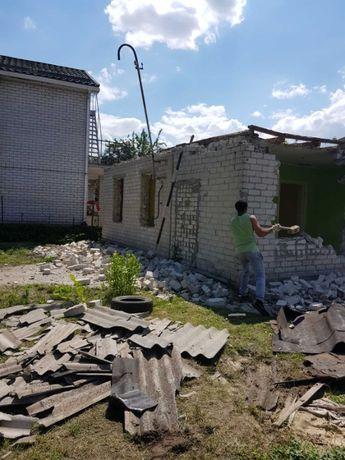 Уборка территорий СПИЛ Демонтаж демонтажные земляные земельные работы