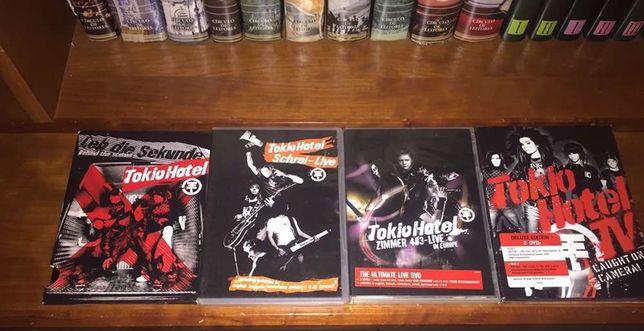 Coleção Tokio Hotel (CDs, DVDs e mais)