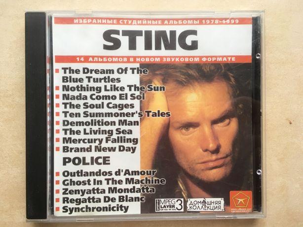 CD и DVD диск - Sting (Стинг) + Police (14 альбомов на 1 диске)