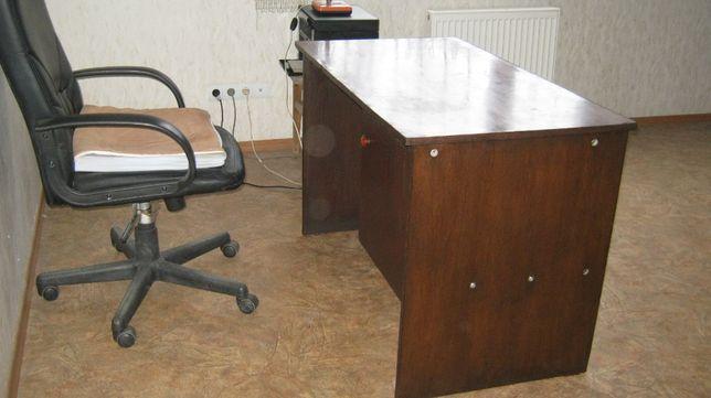 стол письменный полированный