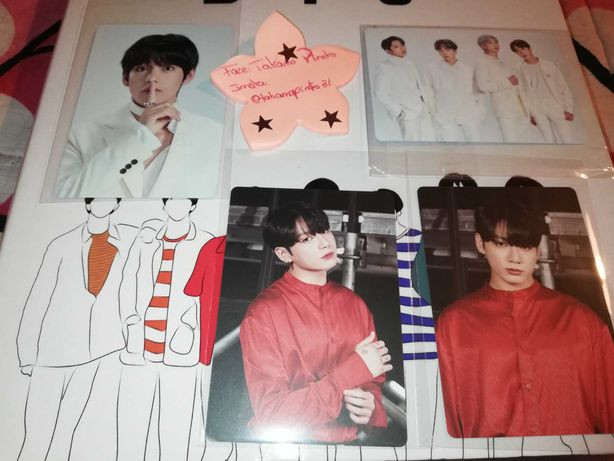 BTS photocards oficiais