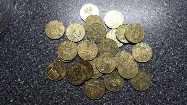 Monety okolicznościowe , kolekcjonerskie 2 i 5 zł.