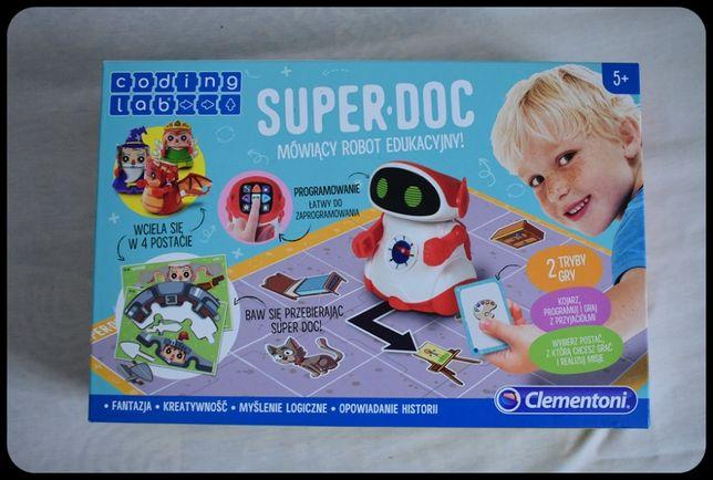 Clementoni Robot Edukacyjny Mówiący Super Doc 50640