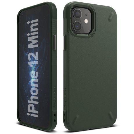 Capa Silicone Ringke Onyx Iphone 12 Mini - Verde