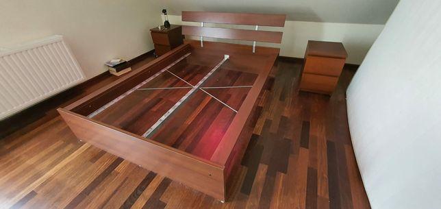 Łóżko+dwie komody