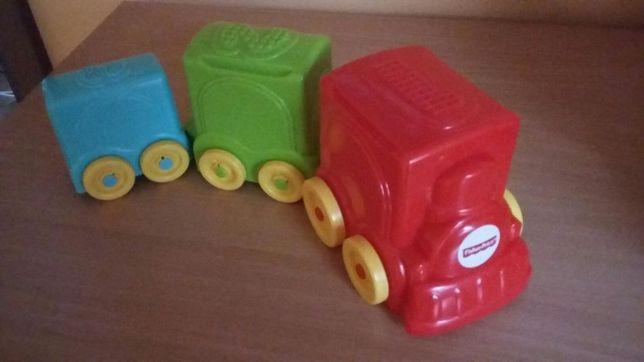 Zabawka edukacyjna Fisher Price pociąg