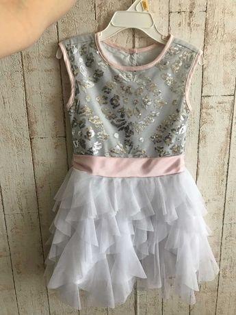 Нарядное платье(3 года) и юбка(4года)
