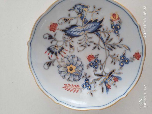 Talerzyk porcelana Miśnia