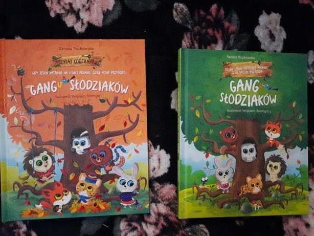 Książki gang fajniaków i gang słodziaków