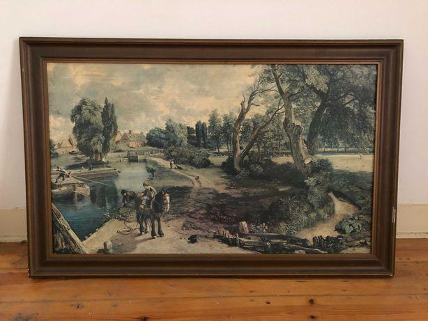 Vende-se quadro: pintura em tela