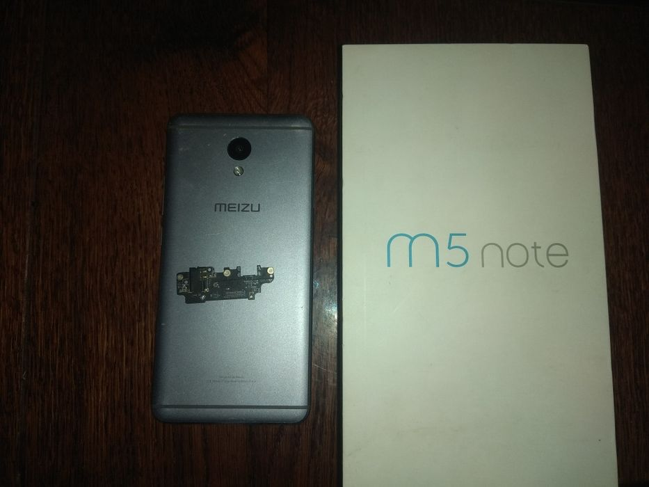 Meizu M5 note, на запчасти + коробка Одесса - изображение 1