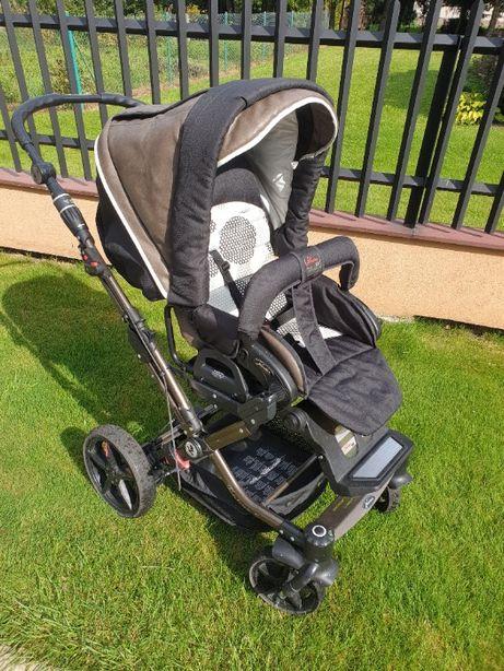 Wózek dziecięcy Hartan topline S brązowy nr wzoru 230