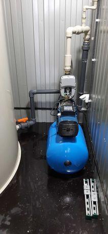 Монтаж насосов, ремонт гидрофоров, скважинных насосов