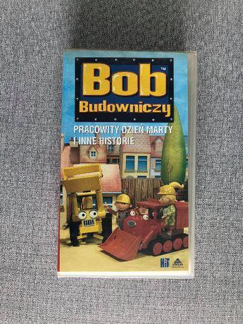 Kaseta VHS Bob Budowniczy