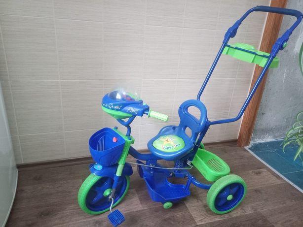 Велосипед-коляска