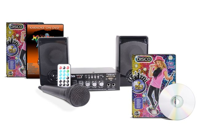 Zestaw karaoke Party KA100 + 2 płyty karaoke DVD gratis!