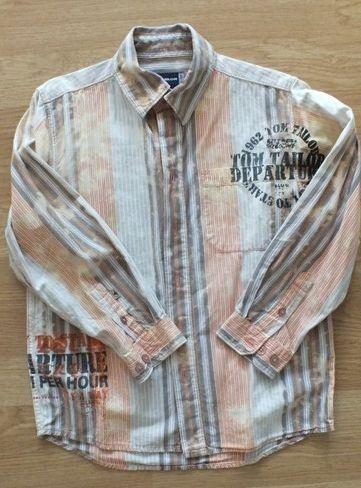 tom tailor 116 122 dłuki rękaw koszula