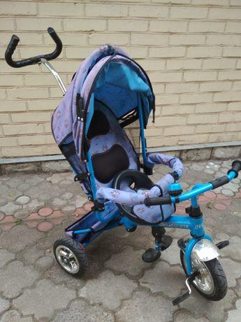 Детский велосипед коляска Профи Трайк Profi trike