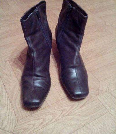 Ботинки из натуральной кожи Clarks,стелька 26 см