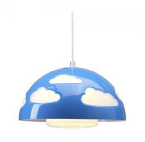 Lampa Skojig Ikea sufitowa dziecięcy niebieska niebo