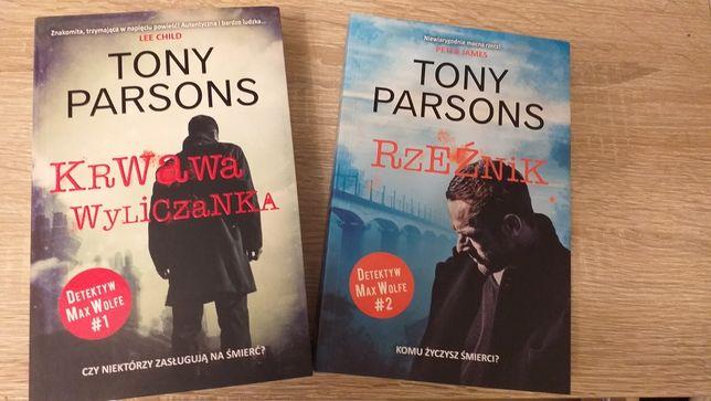 Książki Tonego Parsona- kryminały.