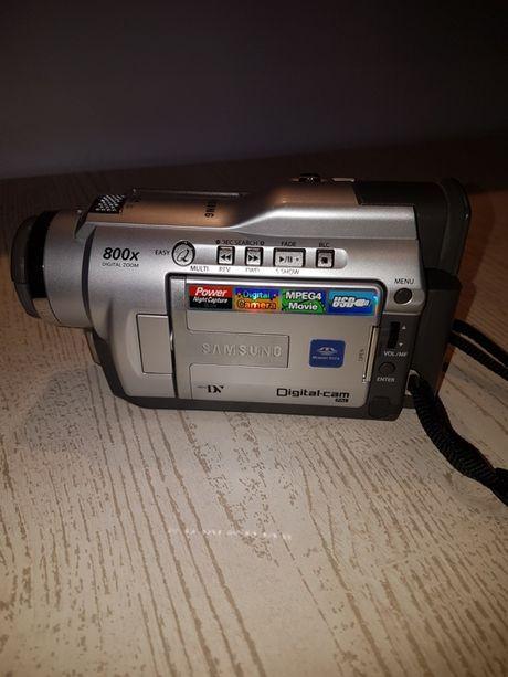Kamera SAMSUNG na kasety mini DV - uszkodzona