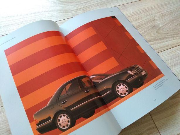 Mercedes E Klasa W210 - Prospekt folder literatura