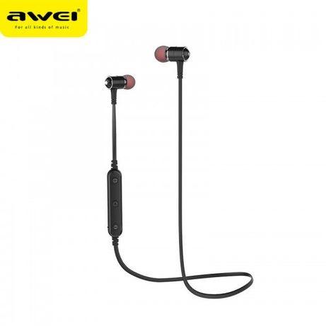 Нові безпровідні Bluetooth наушніки Awei B930BL колір чорний ціна 380