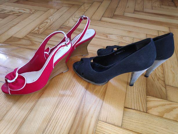 Buty CCC 2 sztuki sandałki 37