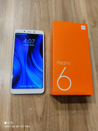 Telefon Xiaomi Redmi 6 niebieski 3GB/64GB Stan idealny. Polecam