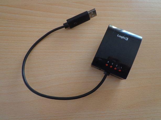 Adaptador Logic3 para PC/PS3