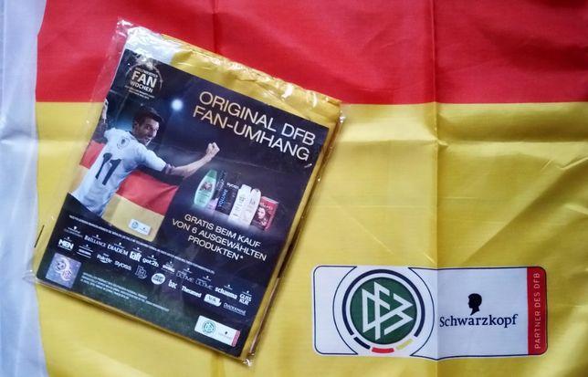 Накидка - флаг футбольного фаната. Евро 2016. Германия. Оригинал