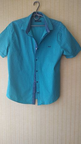 Рубашка для подростка с коротким рукавом